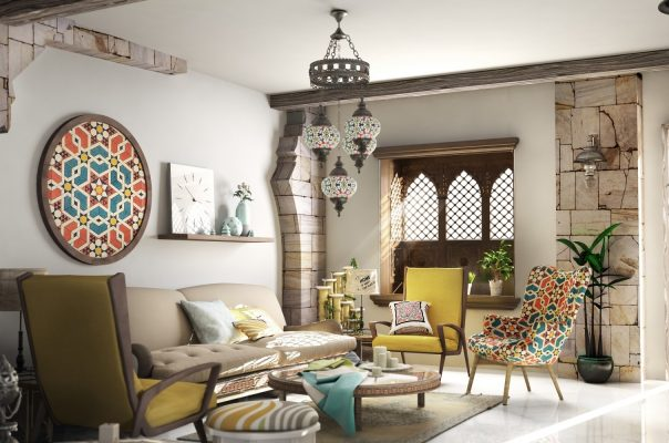 Contemporary Arabic Style Duplex
