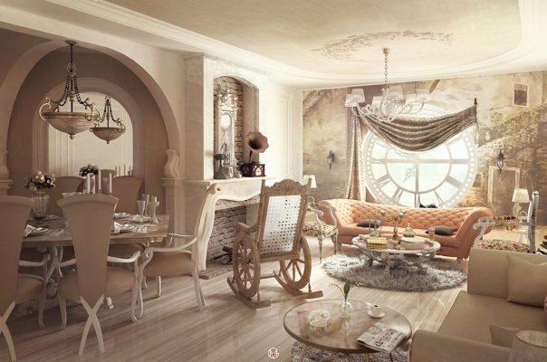 New Classic Apartment