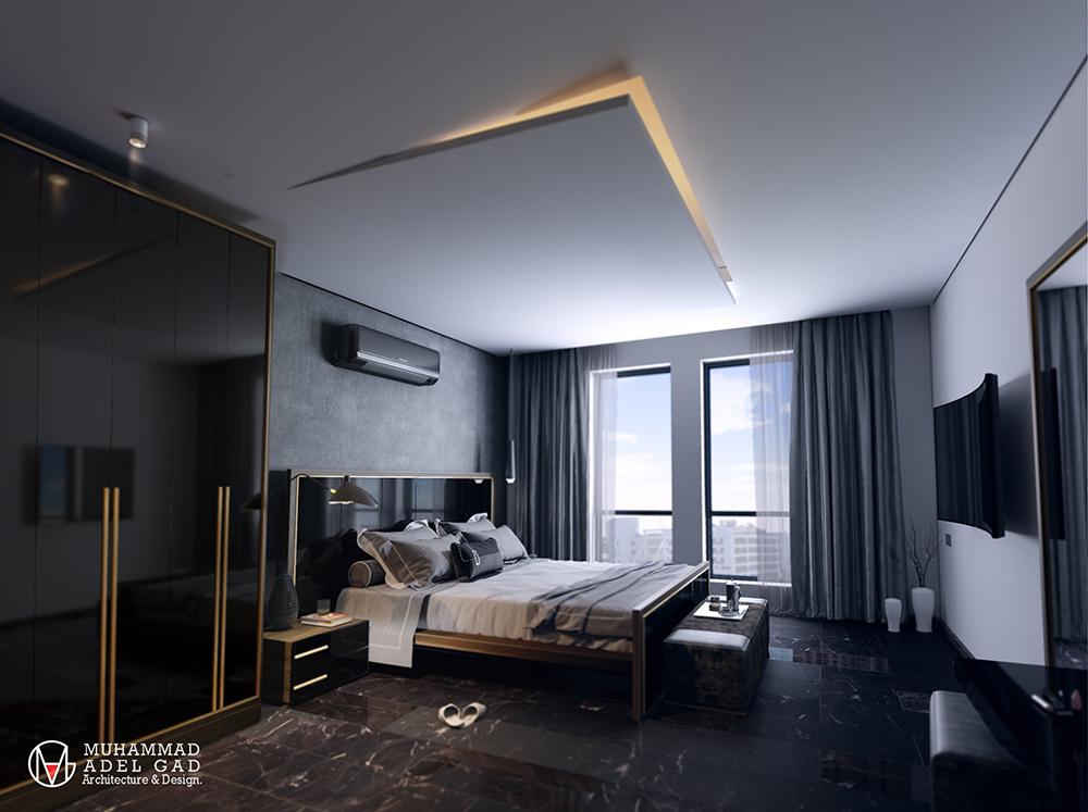 Ultra-Modern Bedroom