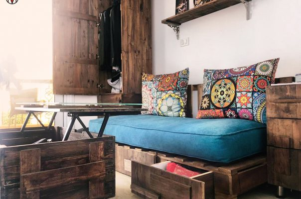 Pallet Bed Room
